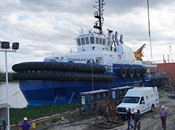 New vessels and barges on their way to Alaska