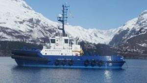 In 2018, Alyeska began work with their new spill prevention and response contractor, Edison Chouest Offshore. These services include operation of escort tugs, oil recovery storage barges, and associated personnel. These resources are key oil spill prevention and response assets for Prince William Sound. To fulfill their contract, Edison Chouest built nine new tugs and four spill response barges, which represents a significant improvement for the oil spill prevention and response system. In some cases, new general-purpose tugs replaced conventional tugs that were over 40 years old.