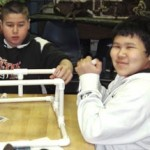 Students create remotely operated vehicle during PWSSC event.