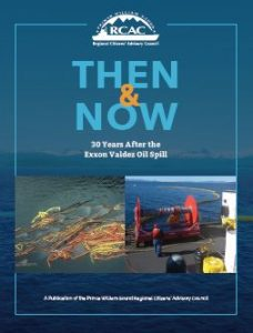 Image of cover of Then and Now 30 Years After the Exxon Valdez Oil Spill